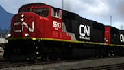 Canadian National SD75I Repaint