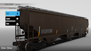 CRDX Covered Hopper