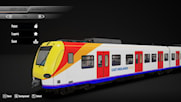 br423 in west midlands trians livery