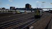 Class 20s Diverted Limestone Westbound