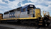 CSX Vintage Livery Pack for SD40