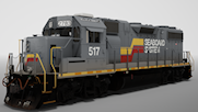 GP38-2 Seabord System Livery