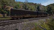 Clinchfield F7A & F7B in Weathered Black Livery