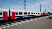 Eurofima coaches SNCB NMBS 1st and 2nd class
