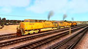 """Union Pacific """"We Will Deliver"""" Kuju ES44AC"""
