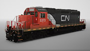 SD40-2 in CN Livery