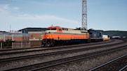 Norfolk Southern Heritage Unit #8105 in Interstate RR Livery