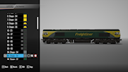 Class 66 in Freightliner Power Haul livery July 2021