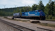 Norfolk Southern Heritage Unit #8098 in Conrail Livery ***Now Version 2***