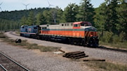 Norfolk Southern Heritage Unit #8105 in Interstate RR Livery ***Now Version 2***