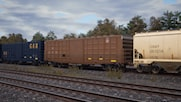 Union Pacific Boxcar (Brown Livery)