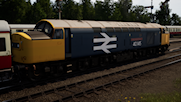 """40145 """"East lancashire Railway"""" in BR Large Logo livery"""