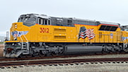 E-Bell and SS Raised Letter K5LA For the UP SD70ACE T4