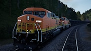 BNSF H3 Black and Gold