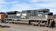 SS Raised Letter K5LLA For the NS SD70M-2