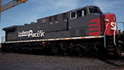 AC4400CW Southern Pacific Speed Lettering