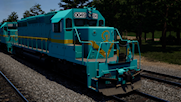 China CR NeiDian ND5 Patch I 'Railway Museum' 0049 (CRR SD40 Livery)