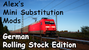 Alex's Mini Substitution Mods (German Rolling Stock Edition)