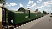 Class 40 D200 in BR Green Livery