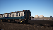 Mk1 Coaches BR Blue/Grey + NTP Timetable