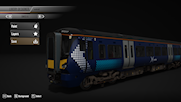 BML 387 in ScotRail Livery.